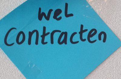 Wel contracten – kleine lettertjes!